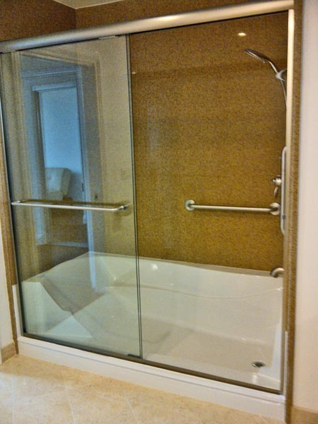 Full Cut E Z Step Tub To Shower Conversion Senior
