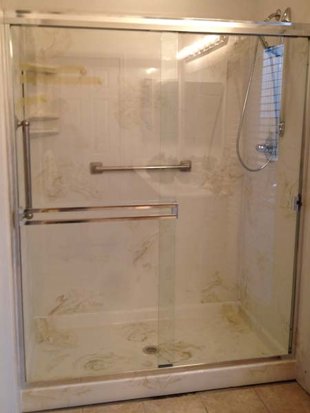Walk In Shower 34x60x72 Marble Shower Pan Amp 3 Wall